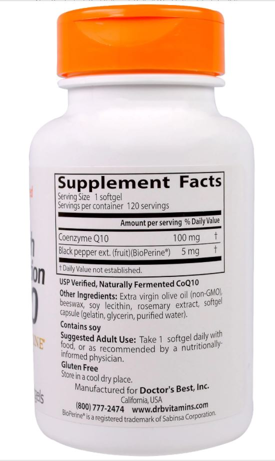 120 Best Longmire Images On Pinterest: Doctor's Best High Absorption CoQ10 With BioPerine 100 Mg